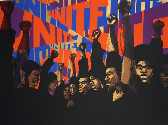 Power  Fists  Guns  Books  Black Power   Book Cover Design   Print     Marked by Teachers